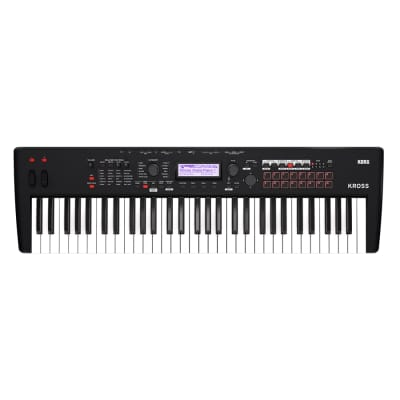 Korg Kross 2-61 Super Matte Black