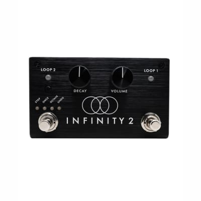 Pigtronix Infinity Looper 2 Double Looper w/2% donation to Guitars4Vets