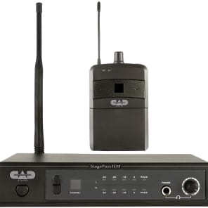 CAD StageSelect IEM StagePass Series UHF Wireless In-Ear Monitor System w/ Earbuds