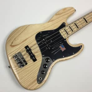 Fender USA 75 Re-Issue Jazz Bass 2007 Natural over Ash for sale