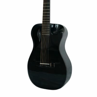 journey Gloss Black Carbon Travel Guitar – OF660 2018 Gloss BLK for sale