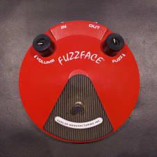 Dunlop JDF2 Dallas Arbiter Red Fuzz Face