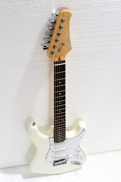 electric guitar bolt on neck ivory mangolulu15 reverb. Black Bedroom Furniture Sets. Home Design Ideas