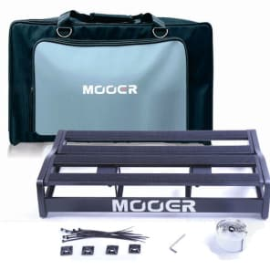 Mooer NEW TF-16S Transform Series Pedal board SOFT Flight Case Holds UpTo 16+ pedals
