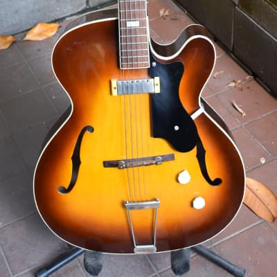 Epiphone Zephyr Regent 1954 sunburst archtop guitar for sale