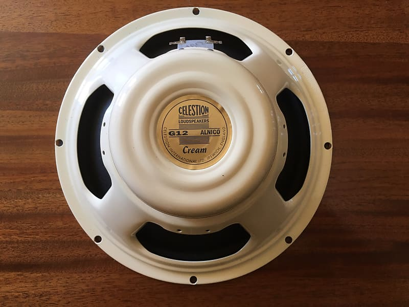 celestion alnico cream 16 ohms plexi shrine reverb. Black Bedroom Furniture Sets. Home Design Ideas