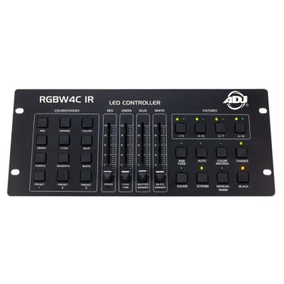 American DJ RGB406 RGBW 4C IR 4 Channel RGBW or RGBA Controller