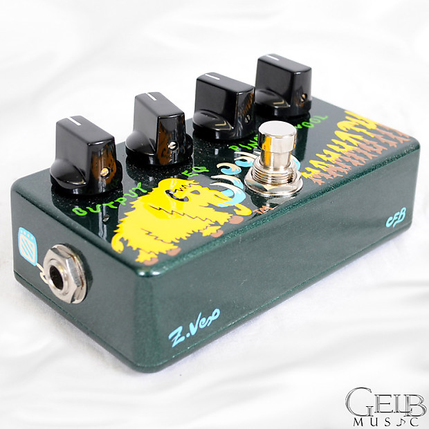 zvex woolly mammoth bass fuzz hand painted guitar effects reverb. Black Bedroom Furniture Sets. Home Design Ideas
