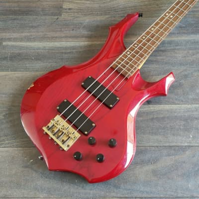 Edwards Japan (by ESP) E-FR Forest Bass (Trans Red) for sale