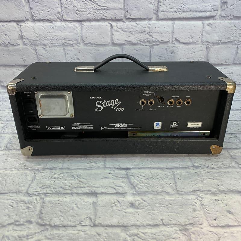 fender stage 100 160w guitar amplifier head reverb. Black Bedroom Furniture Sets. Home Design Ideas
