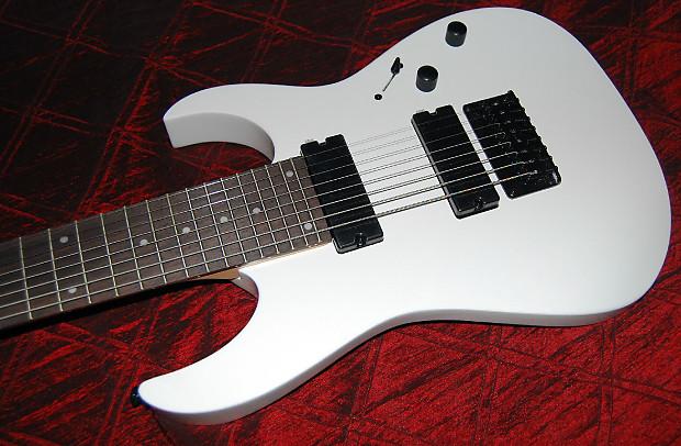 ibanez rg8 8 string electric guitar white save big reverb. Black Bedroom Furniture Sets. Home Design Ideas