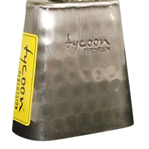 """Tycoon TWH-35 3.5"""" Hand-Hammered Cowbell"""