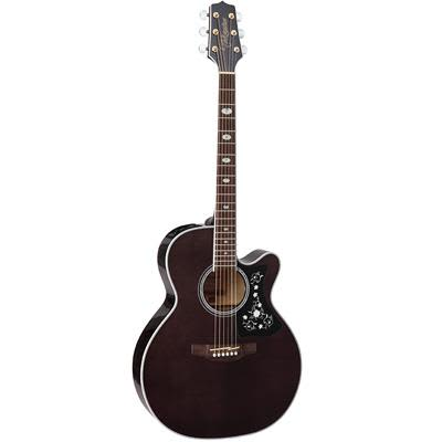 Takamine GN75CE Maple NEX Cutaway Trans Black Electro Acoustic Guitar for sale