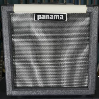 Panama Guitars Pro Series 1x12 Oversized Guitar Cab / Aged V30 Graphite/ Ivory) 65W |  8 ohms for sale