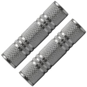 """Seismic Audio SAPT125-2PACK 1/8"""" Female to 1/8"""" Female Cable Coupler Adapters (Pair)"""