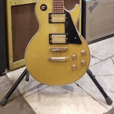 Vintage Matsumoku Single Cutaway 1970s Gold Sparkle (Ibanez/Ventura/Greco) for sale