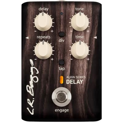 LR Baggs Align Series Delay Acoustic Electric Guitar Effect Pedal for sale