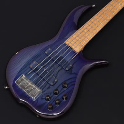 F Bass Bn-5 Transparent Blue Burst 04/01