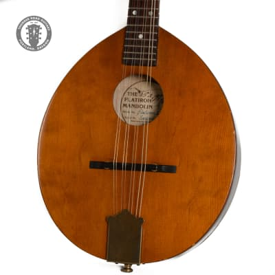 Circa 1970s Flatiron Model 1 Mandolin Left-Hand Conversion for sale