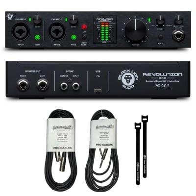 New Black Lion Audio Revolution 2x2 USB-C 2-Channel Portable Recording Audio Interface