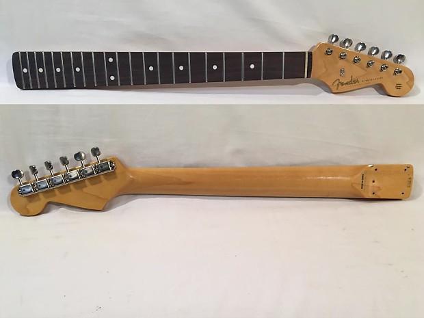 Fender Stratocaster Neck >> Fender Stratocaster Neck Rosewood Vintage 62 Reissue Reverb