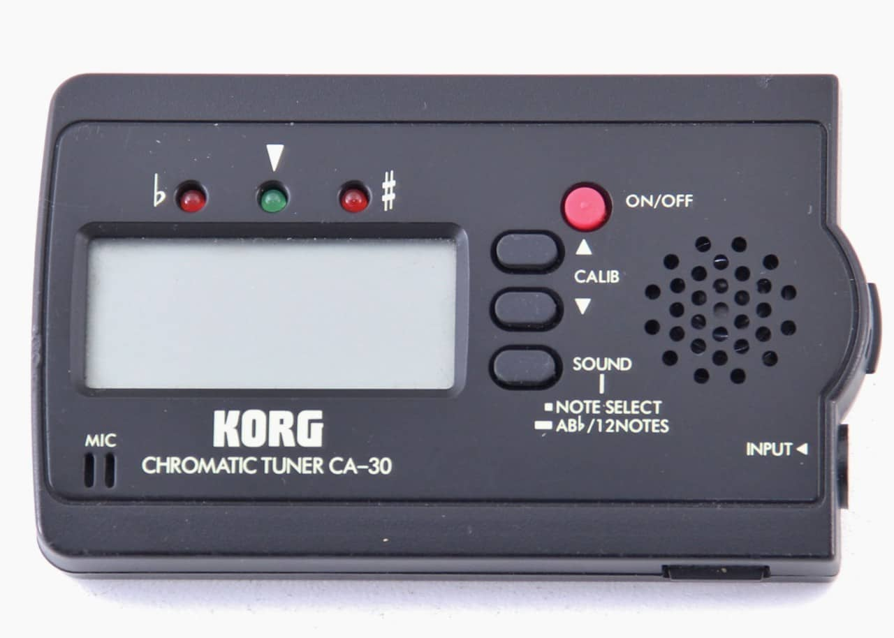 korg chromatic tuner ca 30 manual