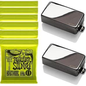 EMG 81-8 4 STRING SETS 85-8 BLACK 8 STRING SOAPBAR ACTIVE GUITAR PICKUP SET