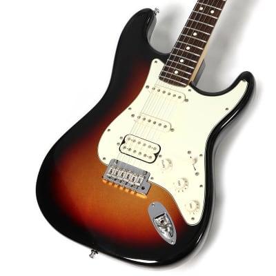 Fender USA American Deluxe Stratocaster HSS Plus Mystic 3-Color Sunburst