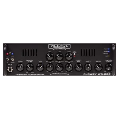 Mesa Boogie Subway WD-800 800-Watt Bass Amp Head