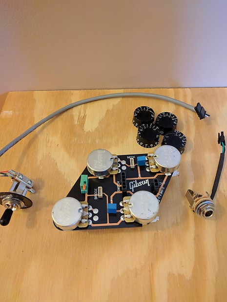 gibson les paul lp circuit board pc board wiring harness | Reverb on gibson switch wiring, gibson es-335 wiring, gibson 50s wiring, gibson les paul wiring mods,
