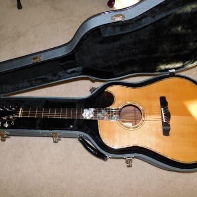 Steve Kauffman Dreadnought Klein Acoustic Guitar Spruce Koa for sale