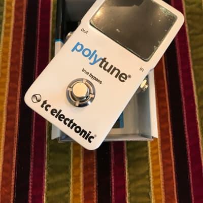 TC Electronic Polytune/original mint 2010s White