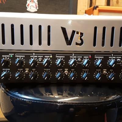 Carvin V3M 3-Channel 50-Watt Micro Tube Guitar Amp Head for sale