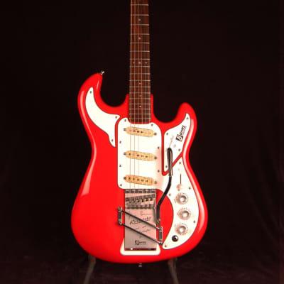 Burns Legend / Marvin 1990s Fiesta Red