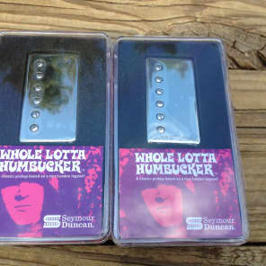 Seymour Duncan SH-18 Whole Lotta Bucker Humbucker Set Nickel Jimmy Page