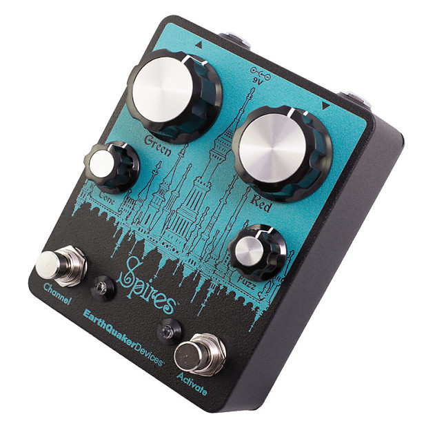 Earthquaker Devices Spires : earthquaker devices eqd spires nu face double fuzz reverb ~ Russianpoet.info Haus und Dekorationen