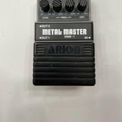 Arion SMM-1 Metal Master Distortion Gray Vintage Guitar Effect Pedal MIJ Japan for sale