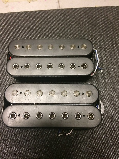 Ibanez Axis AH27 and AH17 7-string humbucker neck and bridge | Reverb