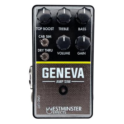 Westminster Effects Geneva Amp Sim V2 Effects Pedal