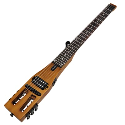 Anygig Travel Guitar Electric AGE SE Brown for sale