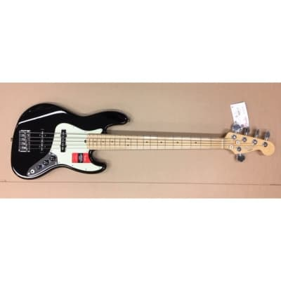 Fender American Professional Jazz Bass V 5-String Black, Maple, B-Stock for sale