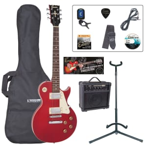 ENCORE ELECTRIC GUITAR OUTFIT - WINE RED for sale