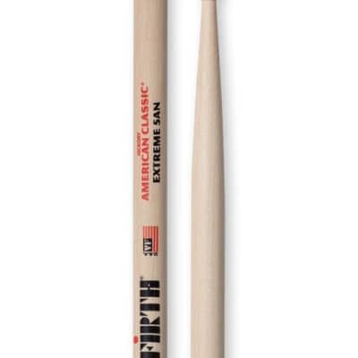 Vic Firth American Classic Series Nylon Tip Drumsticks - Extreme 5A