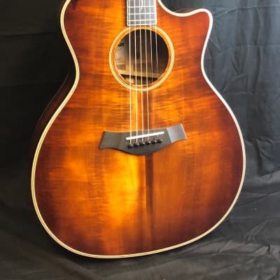 Taylor K24ce  Koa V-Class Grand Auditorium, Acoustic Guitar -Shaded Edgeburst