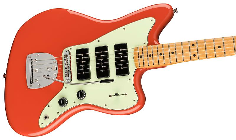 Noventa Jazzmaster in Fiesta Red