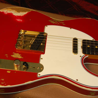 NEW! 2019 Fender 60 Heavy Relic Telecaster Dakota Red Tele Custom Shop Authorized Dealer 7lbs 2oz for sale