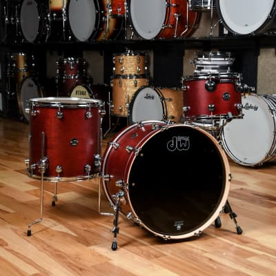 DW Performance Series 13/16/22 3pc. Drum Kit Tobacco Stain