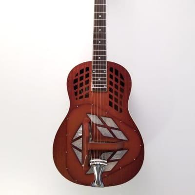National  M-1 Tricone Mahogany Resonator Guitar for sale