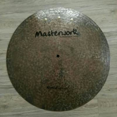 "Masterwork 24"" Natural Flat Ride Sizzle/Rivets"