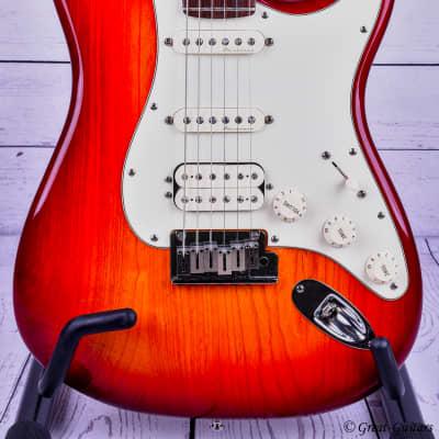 Fender American Deluxe Stratocaster HSS 2002 Tea Sunburst - MINT for sale